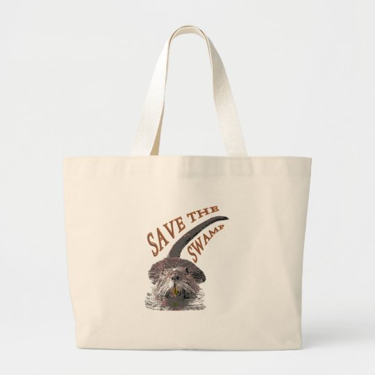 Save Large Tote Bag