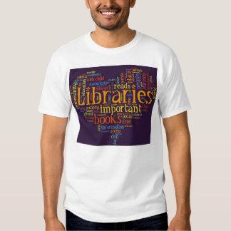 Save libraries shirt