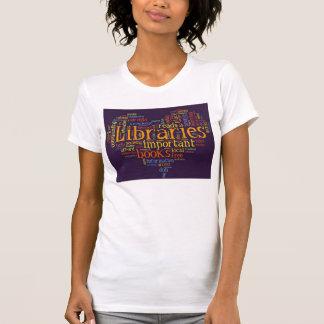 Save Libraries T Shirt