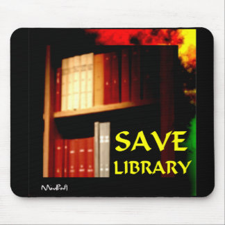 Save Library -1 Mouse Pad
