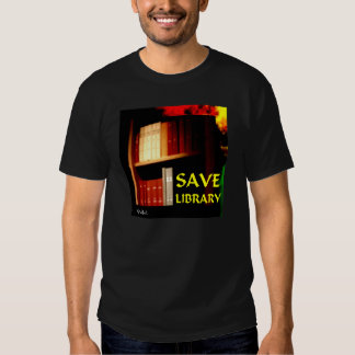 Save Library 1 T-shirt