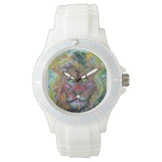 Save lion wristwatch