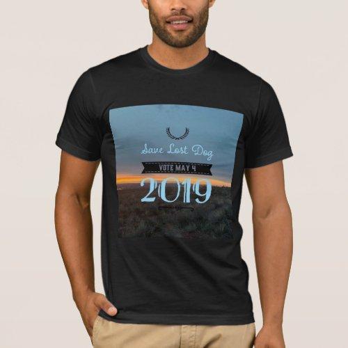 Save Lost Dog _ T_Shirt