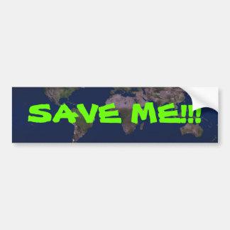 SAVE ME!!! BUMPER STICKER