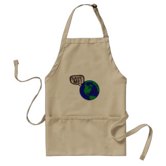 Save Me - Earth Adult Apron