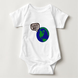 Save Me - Earth Baby Bodysuit