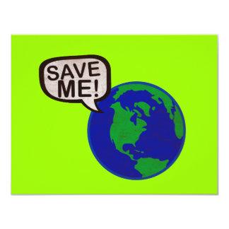 Save Me - Earth Card