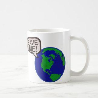 Save Me - Earth Coffee Mug