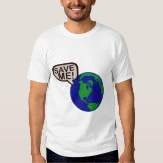 Save Me - Earth T-Shirt