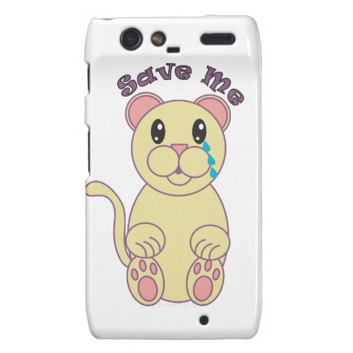 Save Me (Florida Panther) Droid RAZR Cases