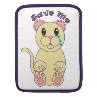 Save Me (Florida Panther) Sleeves For iPads