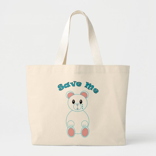 Save Me Polar Bear Bag