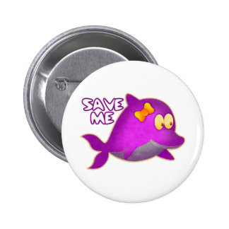 Save Me SAVE THE WHALES Pins