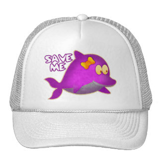 Save Me SAVE THE WHALES Hat