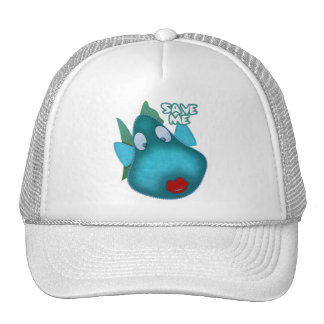 Save me SAVE THE WHALES Mesh Hats