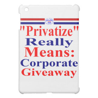 Save Medicare From Corporate Greed Cover For The iPad Mini