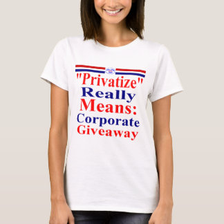 Save Medicare From Corporate Greed T-Shirt