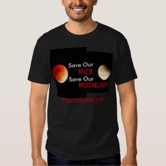 Save MICK/ MOONLIGHT ARMY T Shirts