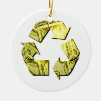 Save Money Recycle Ornament