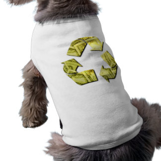 Save Money Recycle Pet Shirt