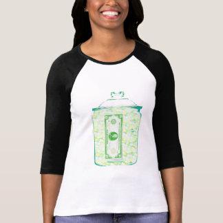 Save Money Women's 3/4 Sleeve Raglan Tee Shirt