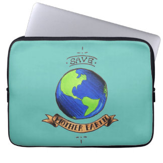 Save Mother Earth Laptop Sleeve