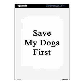 Save My Dogs First iPad 3 Skin