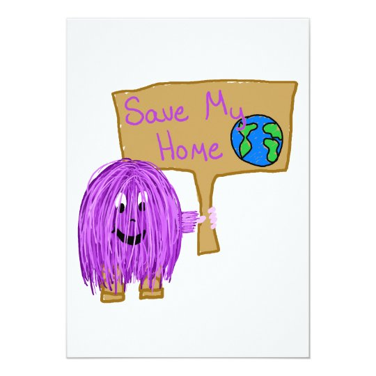 save my home! card