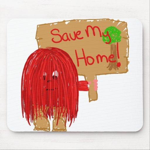 save my home mousepad