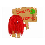 save my home post cards