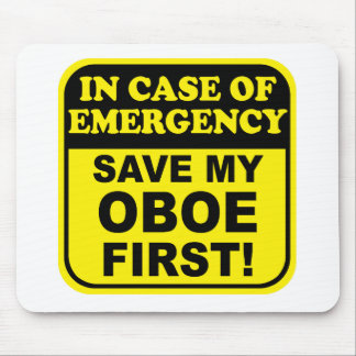 Save My Oboe Mouse Mat