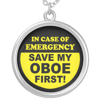 Save My Oboe Necklace