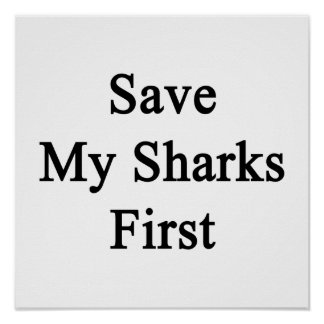 Save My Sharks First Poster