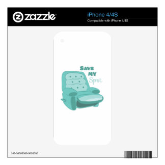 Save My Spot Skin For The iPhone 4S