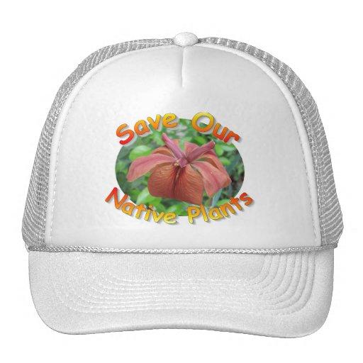 Save Native Plants Iris2 Hat