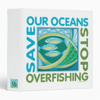 Save Oceans 3 Ring Binder