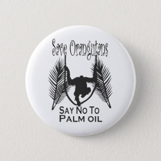 Save Orangutans Say No To Palm Oil Button