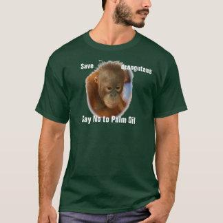 Save Orangutans Say No to Palm Oil T-Shirt