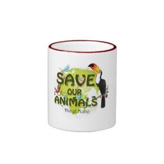 Save our Animals Coffee Mugs
