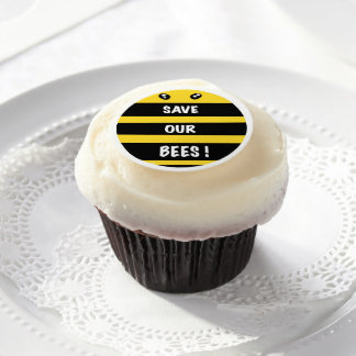 Save our bees edible frosting sheets
