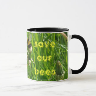 save our bees mug