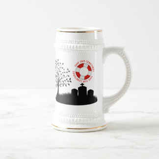 Save Our Cemeteries Beer Stein