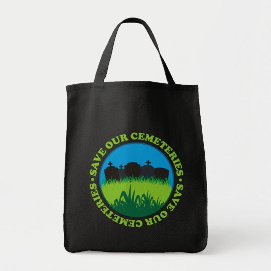 Save Our Cemeteries Tote Bag
