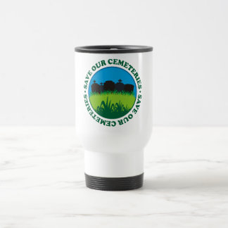 Save Our Cemeteries Travel Mug