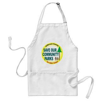 Save Our Community Parks Adult Apron