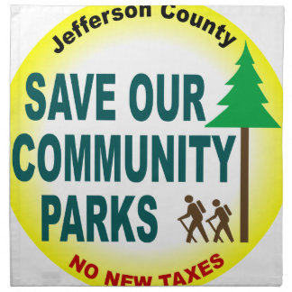 Save Our Community Parks Napkins