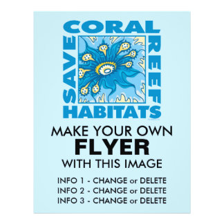 Save Our Coral Reefs Flyer