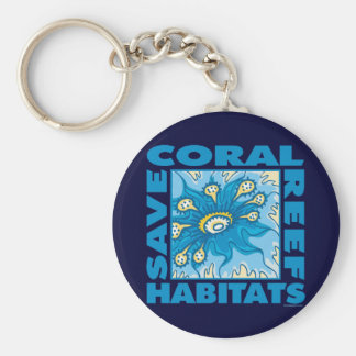 Save Our Coral Reefs Keychain
