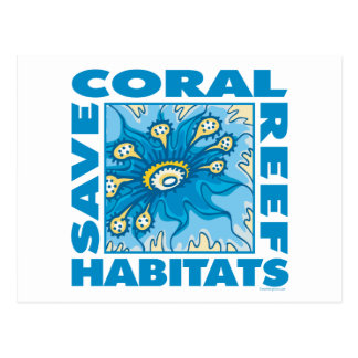 Save Our Coral Reefs Postcard