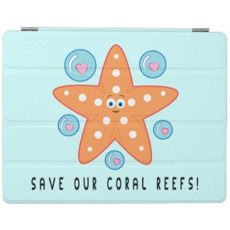 Save our Coral Reefs with Starfish iPad Smart Cover